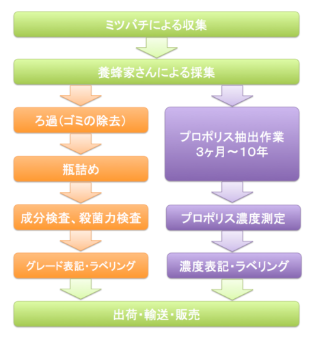 生産フロー比較図