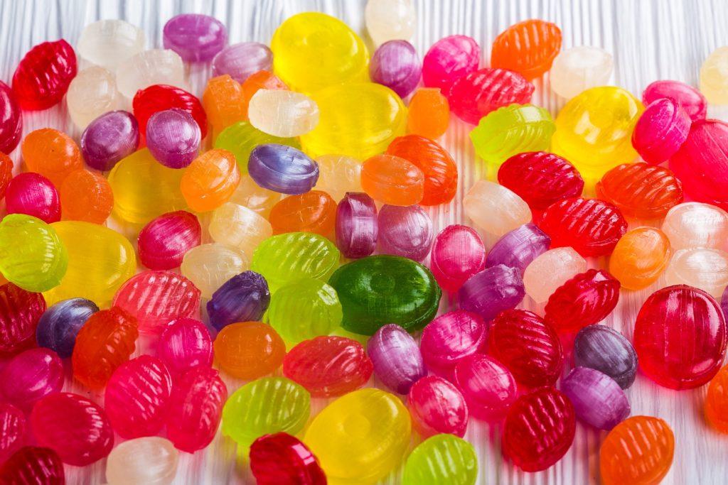 色々なキャンディー