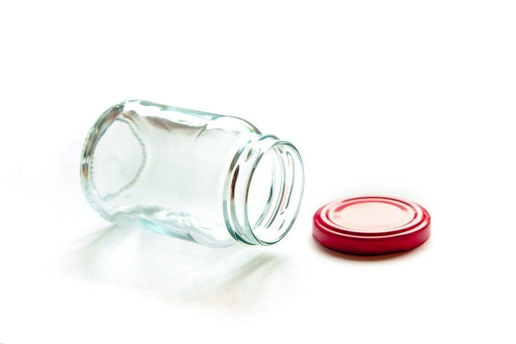 ガラス瓶のイメージ