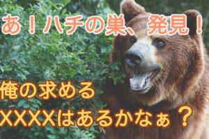 熊はハチミツが好き?の記事アイキャッチ
