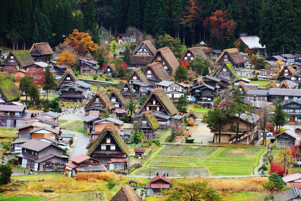 日本の集落のイメージ