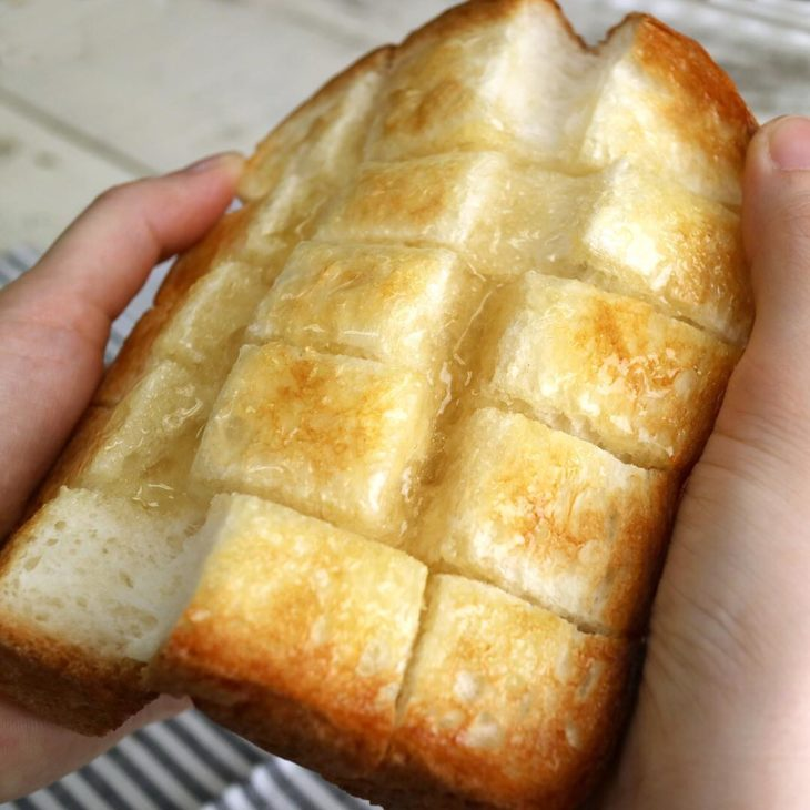 アカシア蜂蜜|バタートースト