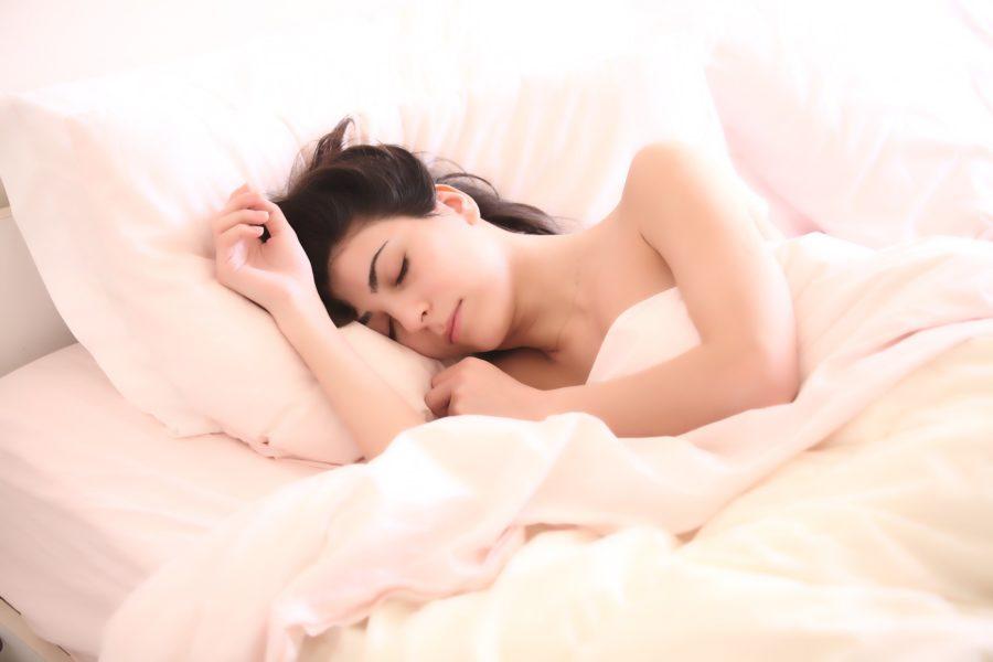 眠る人のイメージ