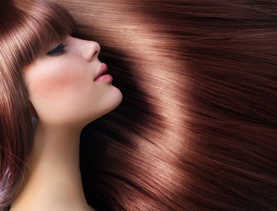 艶のある髪の女性のイメージ