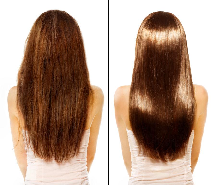 髪のパサつきイメージ