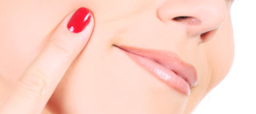 肌のハリのイメージ