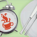 食べる時間と道具のイメージ