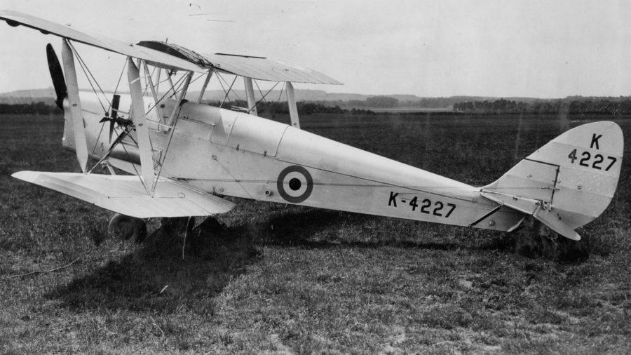 DH.82Bの写真