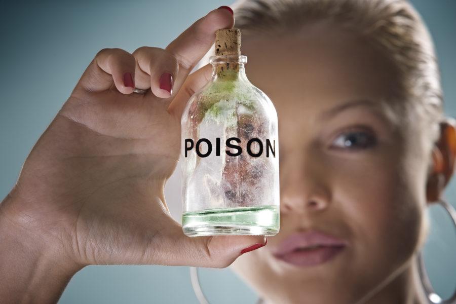 毒のイメージ