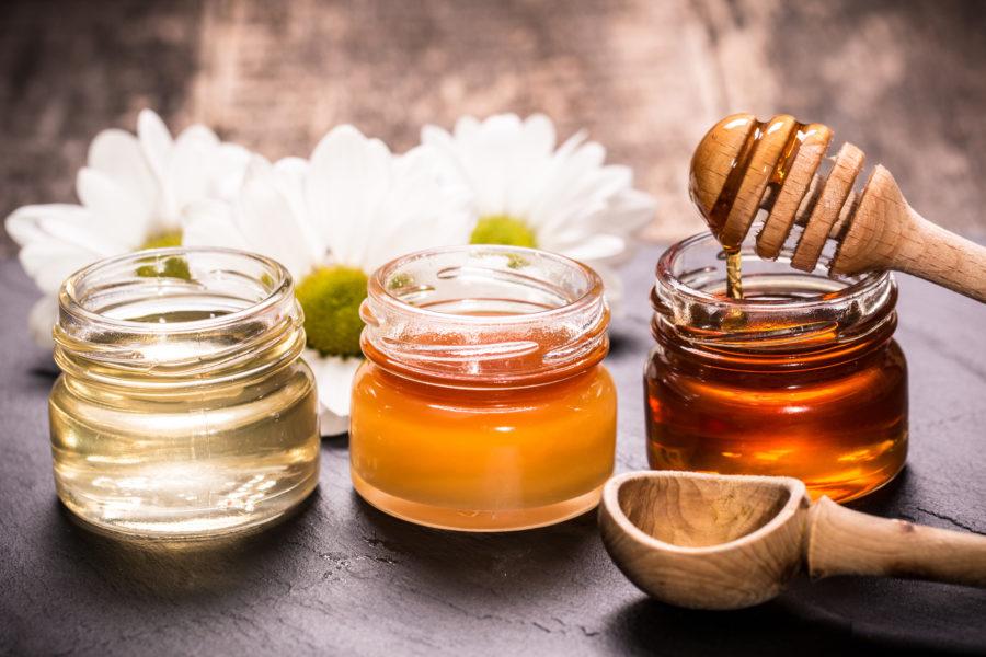 ハチミツの比較イメージ