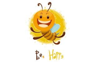 楽しいミツバチのイメージ