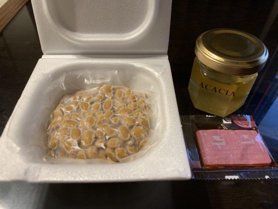 ハチミツ×納豆の材料
